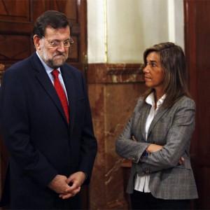 Rajoy con Ana Mato