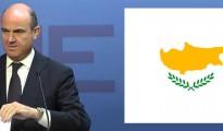 El Ministerio de Economía respalda el rescate de Chipre