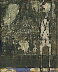 Jean Dubuffet - Mur aux inscriptions,1945