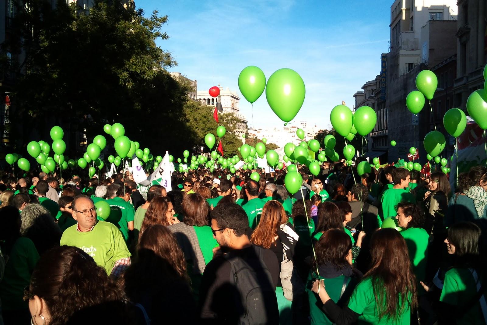 Marea verde contra la LOMCE