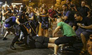 18J - Cargas policiales en Madrid