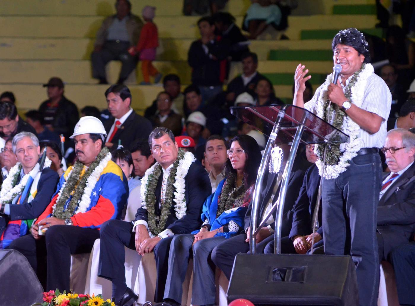 Evo Morales ofrece asilo político a Snowden
