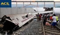 ACS, la empresa adjudicataria de la línea Ourense-Santiago, aparece en los papeles de Bárcenas