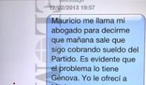 Según Bárcenas, Cospedal y Arenas habrían mentido al juez Ruz