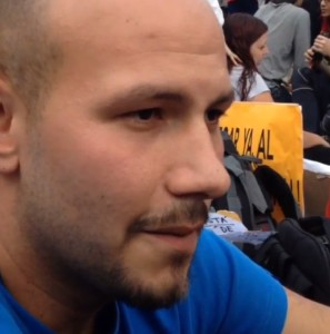 Huelga de hambre - Alejandro