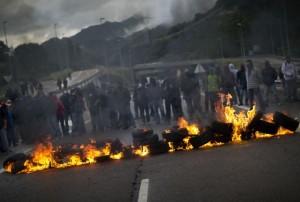 Ley de Seguridad Ciudadana Huelga de Mineros