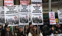 """Miles de personas rechazan la LOMCE: """"la lucha no ha terminado aunque la ley ha sido aprobada"""""""