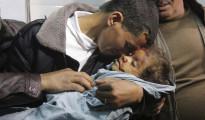 Muere una niña de tres años a causa de los bombardeos israelíes