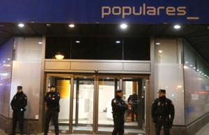 El PP destruye los correos de Lapuerta y Páez antes del registro policial de su sede