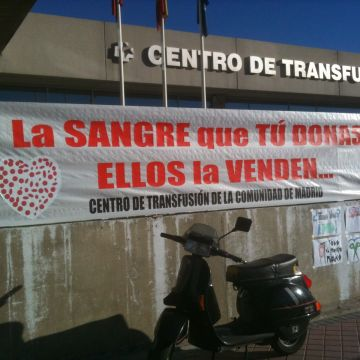 La Marea Blanca tomará la Puerta del Sol contra la privatización de la sangre