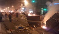 Revuelta ciudadana y cargas policiales en Burgos por la especulación urbanística