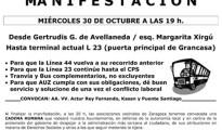 Multa de 750 euros a un vecino por pegar 10 carteles reivindicativos en su barrio