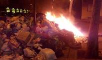 Alcorcón - Incendios de basura