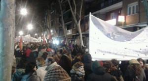 Alcorcón - Manifestación en defensa de lo público