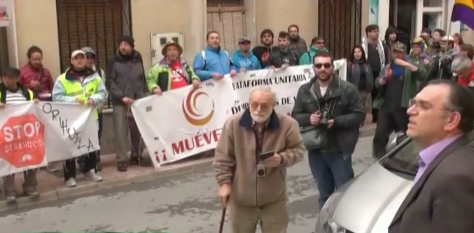 """Alcalde de Caudete (PP) llama """"fascistas"""" y """"rojos de mierda"""" a los parados de las Marchas del 22M"""