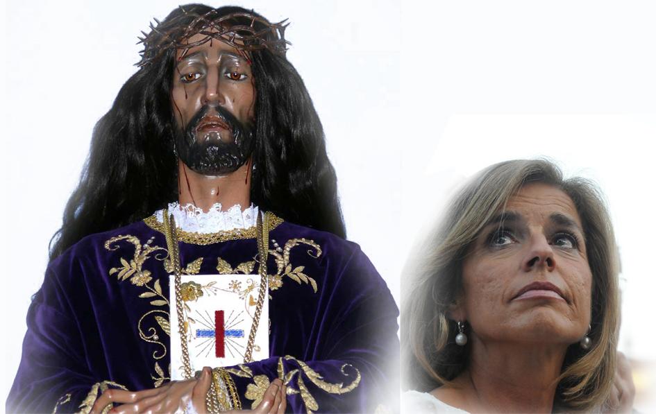Botella se suma a la procesión de ministros que ruega a los santos para salir de la crisis