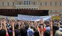 Prohibidas las protestas ciudadanas en Atenas por la cumbre económica de la UE en Grecia