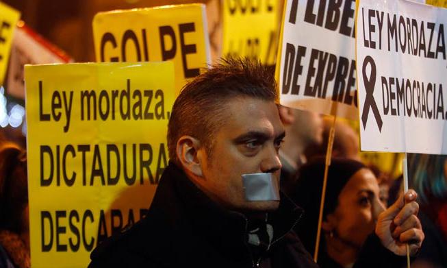 Los jueces consideran la 'Ley Mordaza' inconstitucional