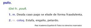 Pufo_DRAE