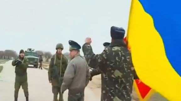 Primeros disparos en Ucrania