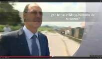 (Vídeo) El presidente de Cantabria asegura ir a reírse de los trabajadores de SNIACE