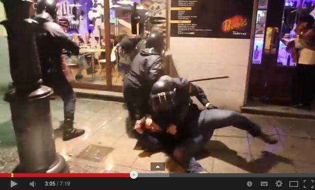 """El vídeo de las agresiones a la Prensa tras el """"Jaque a la Monarquía"""" destaca en Youtube"""
