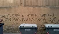 La revuelta por el cierre del centro social Can Vies amenaza con convertirse en el segundo Gamonal