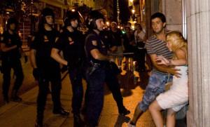 Suspendido el juicio al policía que abofeteó a una menor durante la visita del Papa a Madrid