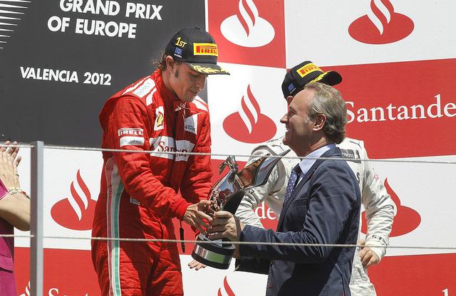 La fiscalía de Valencia investiga a Alberto Fabra por malversación de fondos en la F1