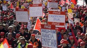 La Justicia declara nulo el ERE de Coca-Cola y obliga a readmitir a todos los trabajadores