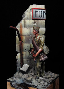 Defensa premia obras de arte que homenajean a soldados franquistas