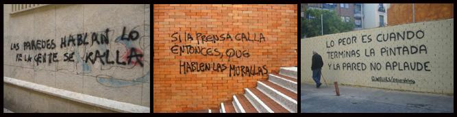 La pintada callejera: el arte de la palabra manuscrita como protesta