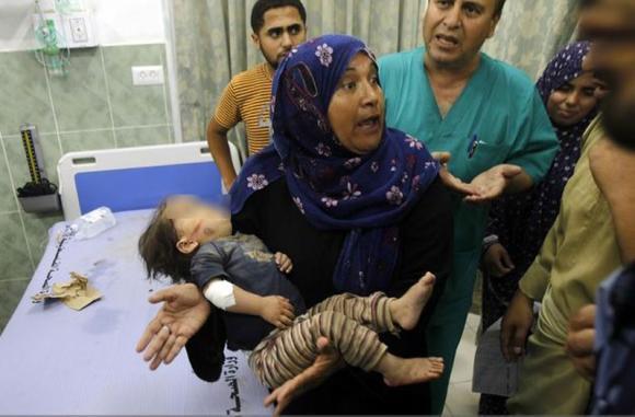 muertos palestina