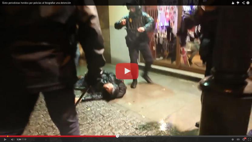 """Sindicatos de periodistas denuncian constante acoso y violencia policial """"para que no registren lo que está sucediendo"""""""