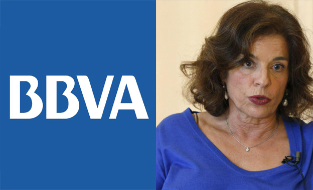 Ana Botella cambia el nombre de una calle para que esté a tono con el BBVA