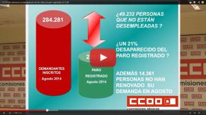 Cospedal_Paro_CCOO_Manipulacion