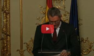 Gallardon_Dimite_Video