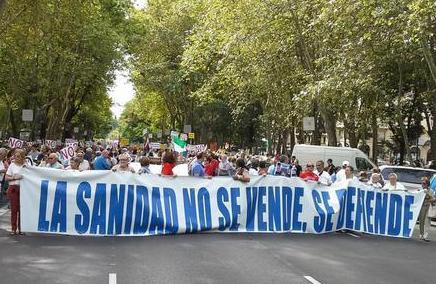 """La Marea Blanca vuelve a inundar Madrid: """"Los recortes en Sanidad matan"""""""