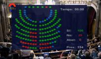 El Parlament catalán aprueba la ley de consultas con el apoyo del 78,8% de la Cámara