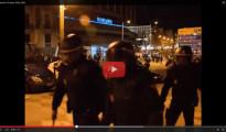 El fiscal pide la absolución de los policías acusados de golpear a una periodista en el 22M