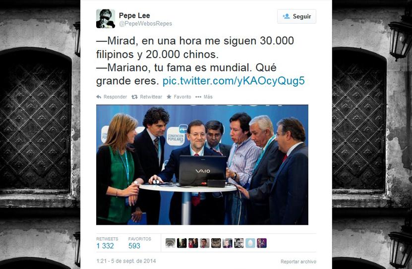 Twitter detecta el fraude y elimina parte de los seguidores falsos de Rajoy