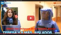 (Vídeo) 'España Directo' falsea las imágenes del hospital Carlos III para hablar sobre el ébola