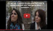(Vídeo) Estas son las caras de asombro de los franceses al conocer la ley mordaza española