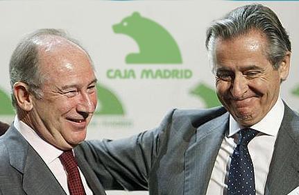 Rato y Blesa, imputados por el escándalo de las 'tarjetas B'