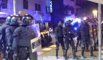 Cargas policiales y detenciones en varias ciudades durante las protestas por la represión del movimiento libertario