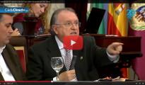 (Vídeo) Concejal del PP recrimina a concejal de IU el cobrar una pensión por tener cáncer