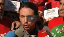 """(Vídeo) Pablo Iglesias con los enfermos de Hepatitis C: """"Mientras algunos se forran, hay gente que tiene que morir"""""""