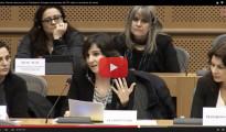 """La Asociación de Víctimas del Metro en el Parlamento Europeo: """"La gestión del accidente fue vergonzosa y si estamos en Europa es porque el Gobierno valenciano nos ha fallado"""""""