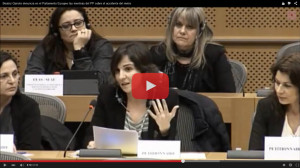 Beatriz Garrote_Parlamento Europeo