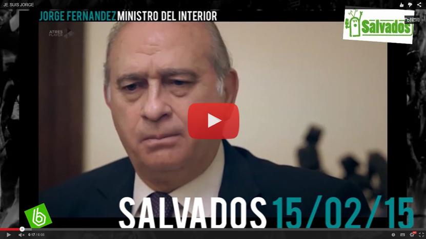 (Vídeo) Colectivos Sociales exigen a Fernández Díaz que cumpla su palabra y dimita, como prometió a Jordi Évole